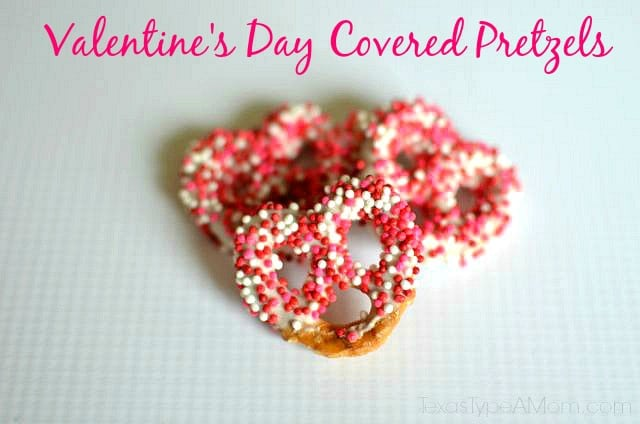 Valentine's Day Covered Pretzels 1