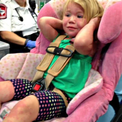 2 Year Old with Hives, Seizure, and an Emergency Room