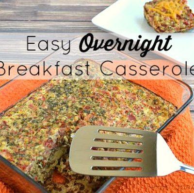 Easy Overnight Breakfast Casserole Recipe