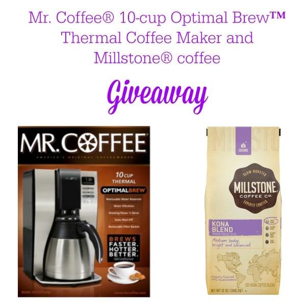 Mr Coffee Millstone Giveaway #coffeejourneys #shop
