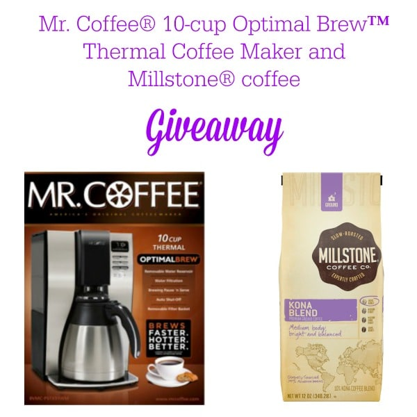 Mr Coffee Millstone Giveaway #coffeejourneys #shop