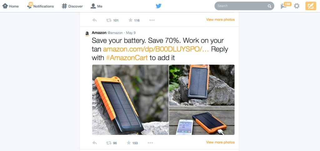 Amazon Solar Cell Battery #AmazonCart #shop #cbias