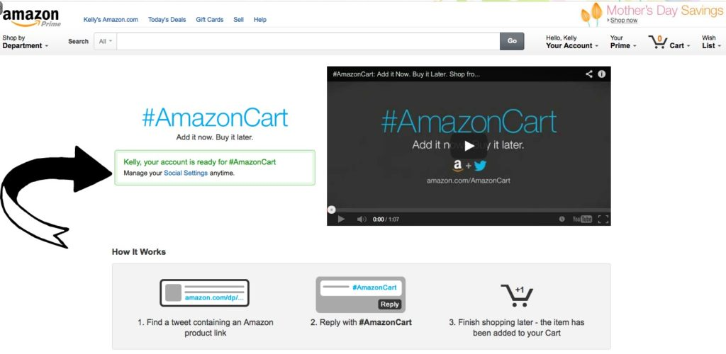 How #AmazonCart Video #shop #cbias
