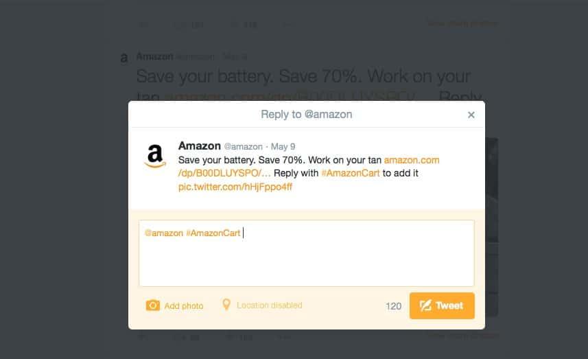 Battery Saver Tweet #AmazonCart #shop #cbias