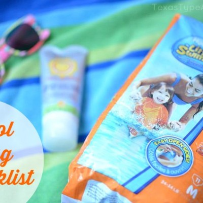 Pool Party on a Budget + Pool Bag Checklist