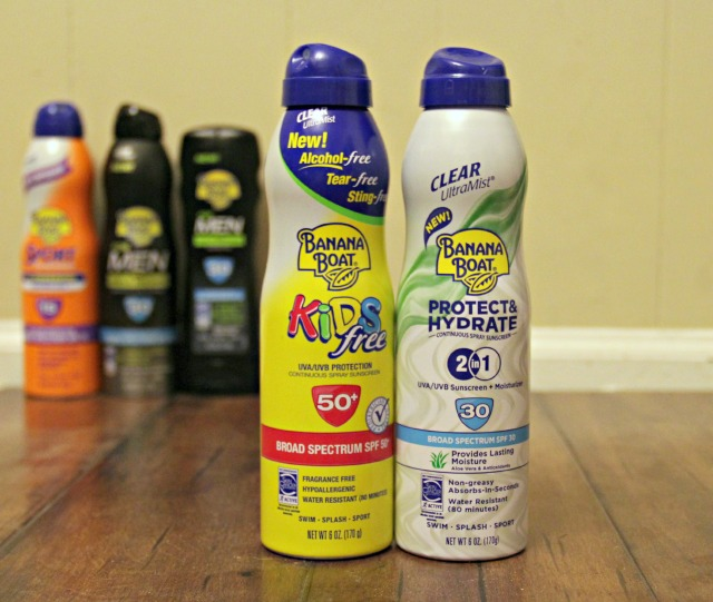 Banana Boat Featured Sunscreens