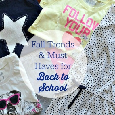5 Fall Trends & Must Haves for Back to School