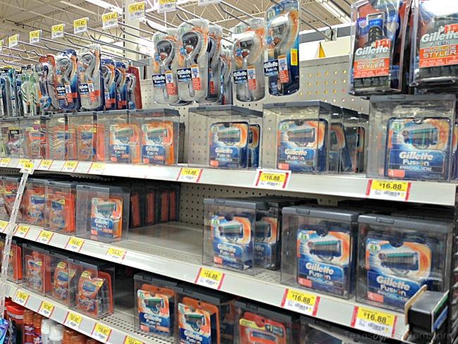 Gillette Fusion Proglide Razors at Walmart #SmoothSummer #shop