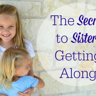 FROZEN: The Secret to Sisters Getting Along