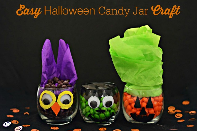Easy-Halloween-Candy-Jar-Craft #SweetorTreat #shop
