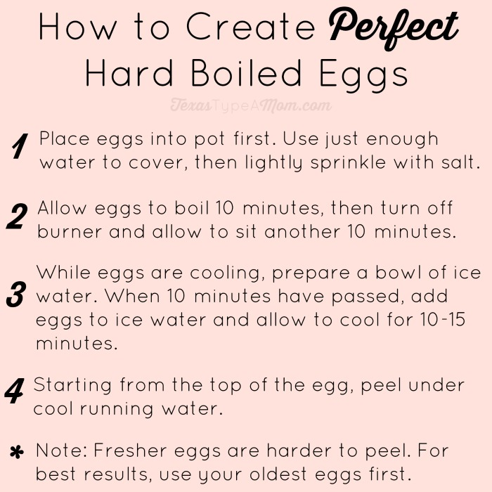 If you've ever struggled with making hard boiled eggs then this is the tutorial for you! How to Create Perfect Hard Boiled Eggs every time.