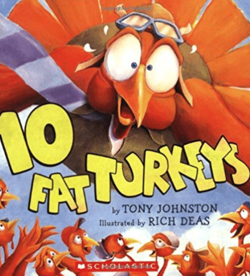 10 Fat Turkeys: Best Thanksgiving Books for Kids