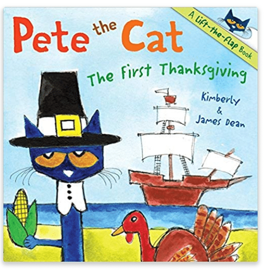 Pete The Cat Thanksgiving Book for Kids