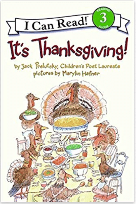 It's Thanksgiving - An I Can Read Book