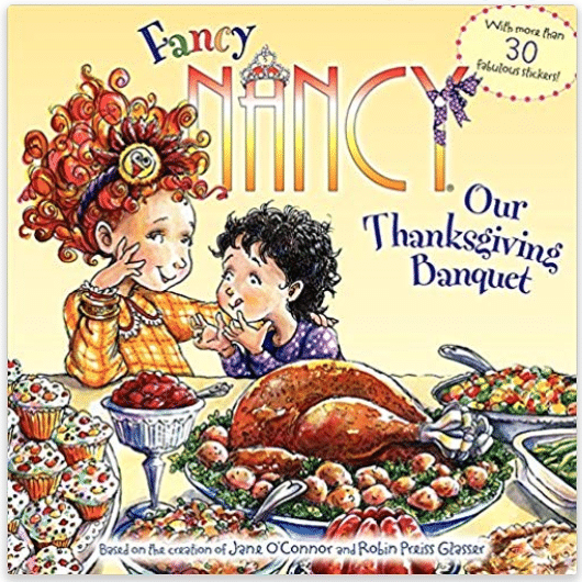 Fancy Nancy Thanksgiving