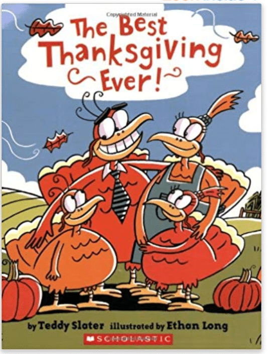 Best Thanksgiving Ever Book for Kids