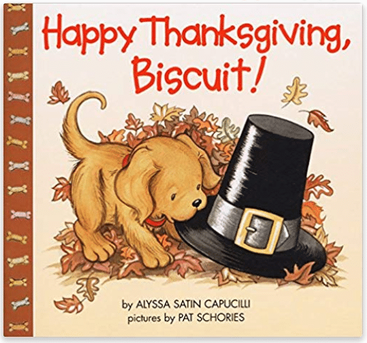 Biscuit Thanksgiving Book