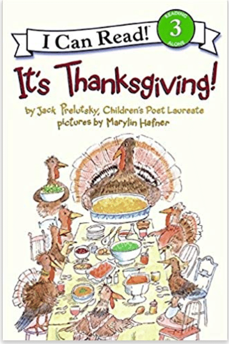 It's Thanksgiving Book for Kids