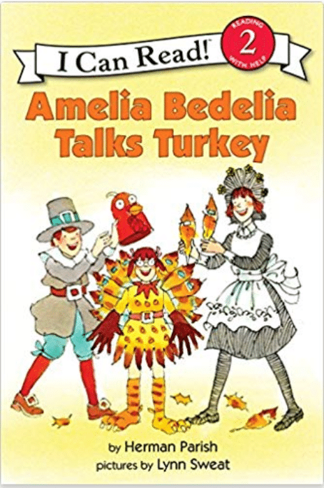 Amelia Bedelia Thanksgiving by Herman Parish - Thanksgiving Book for Kids