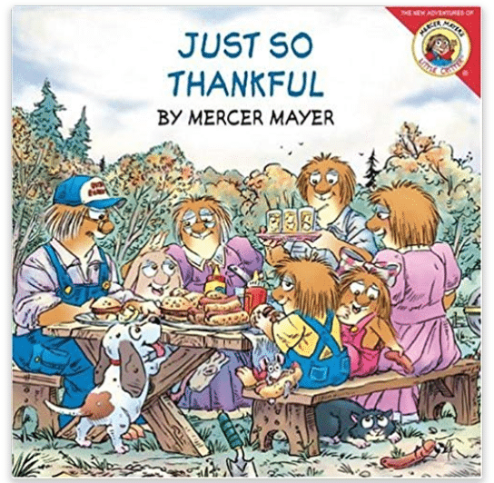 Just So Thankful Thanksgiving Book for Kids