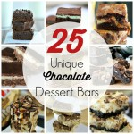 25 Unique Chocolate Dessert Bars