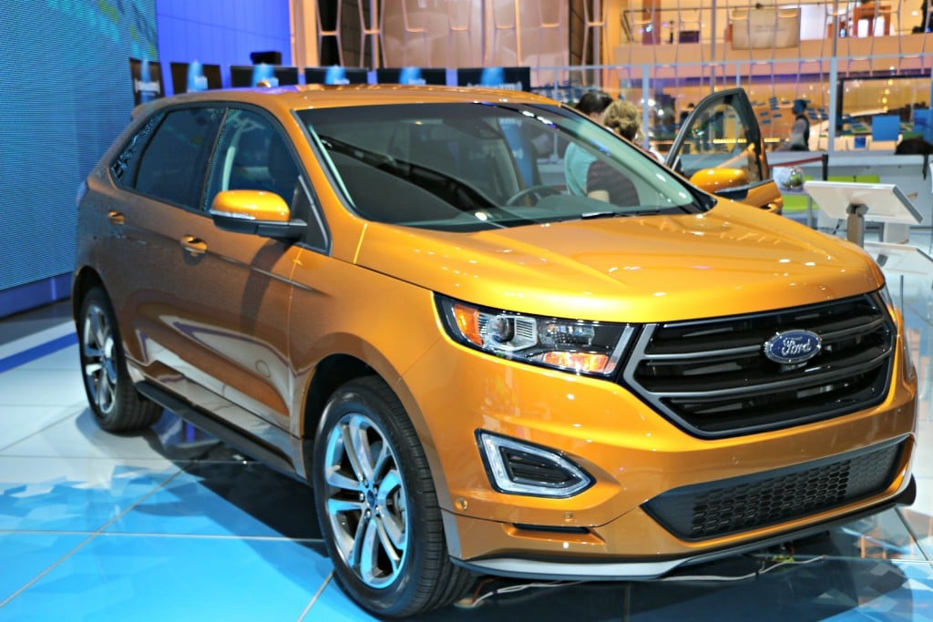 2015 Ford Edge Exterior #Ford NAIAS