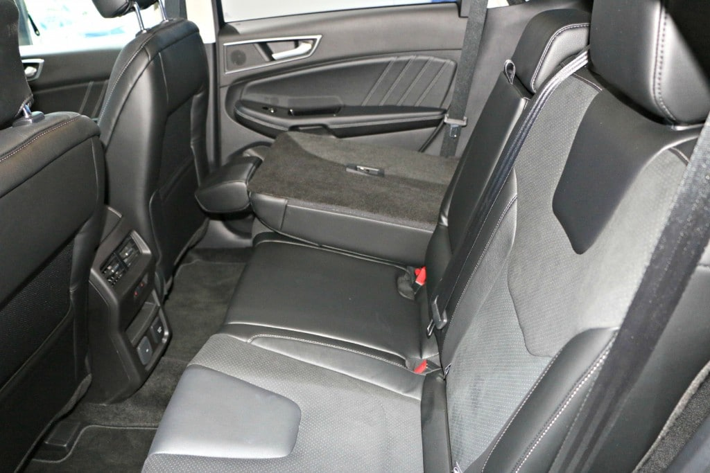 Ford Edge Sport Backseat #Ford NAIAS