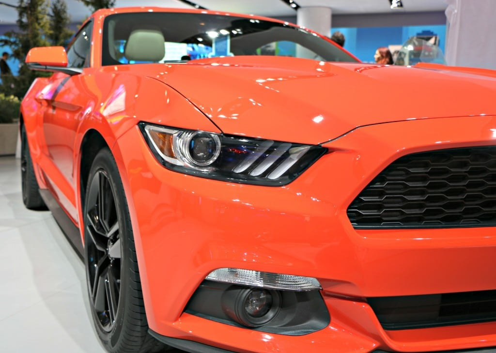 2015 Ford Mustang Front #FordNAIAS