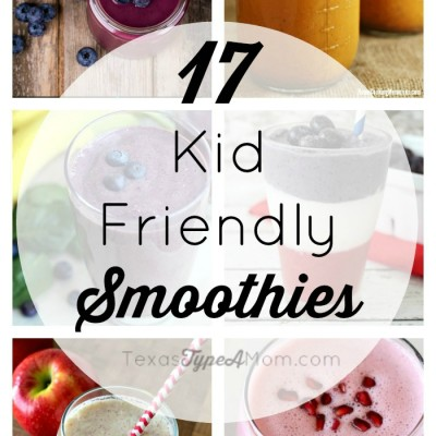 17 Kid Friendly Smoothie Recipes