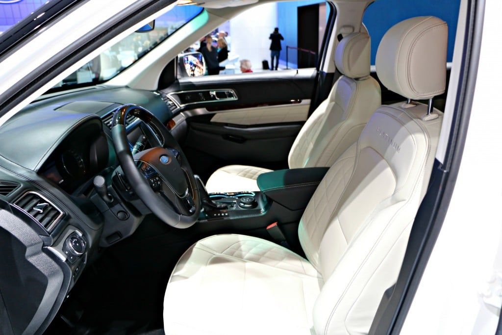 2016 Ford Explorer Interior #Ford NAIAS