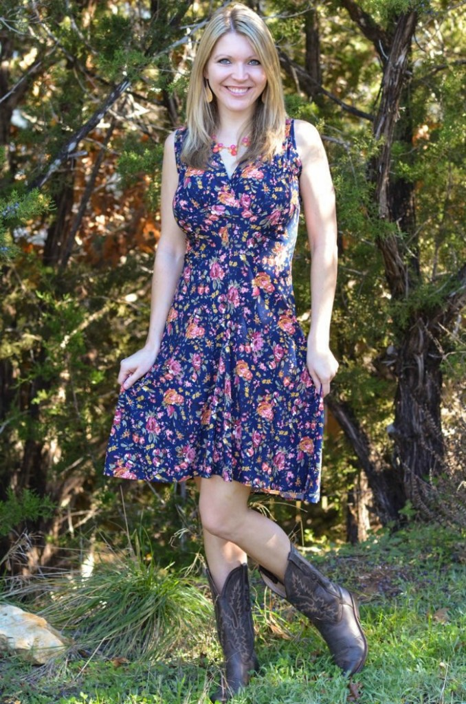 Karina Dresses in Floral Warm Weather Look