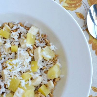 Tropical Morning Oats Breakfast Recipe