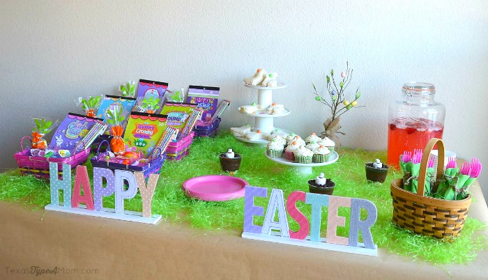 M&Ms Carrot Cake Easter Party Play Date