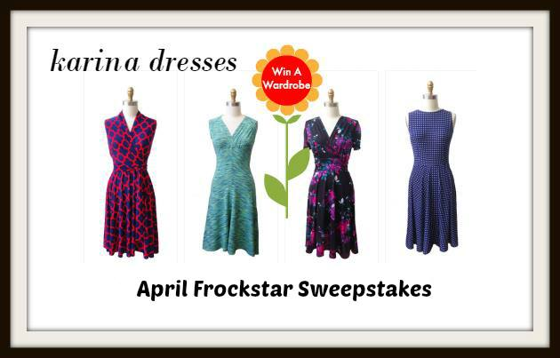 Karina April Frockstar Sweepstakes