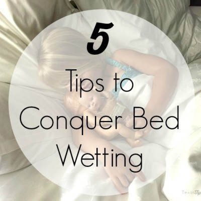 5 Tips to Stop Bed Wetting