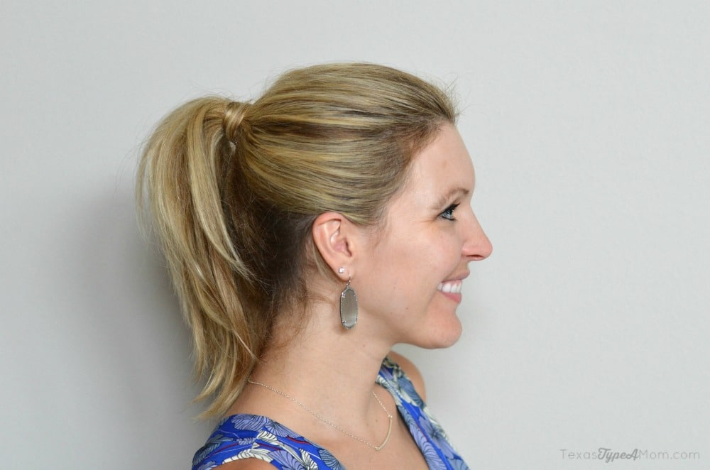 how to make a voluminous ponytail
