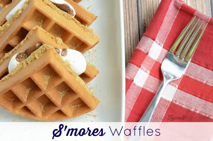 S'mores Waffles Recipes
