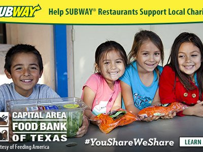 Give Back This Summer: You Share. We Share