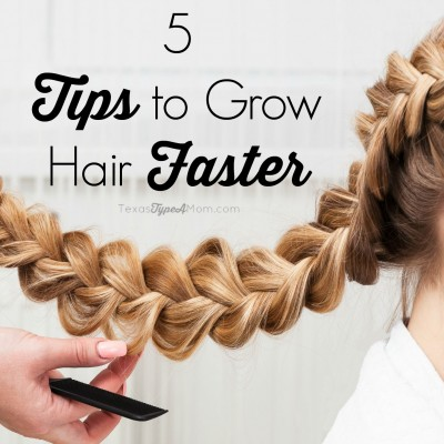 5 Tips to Grow Hair Faster