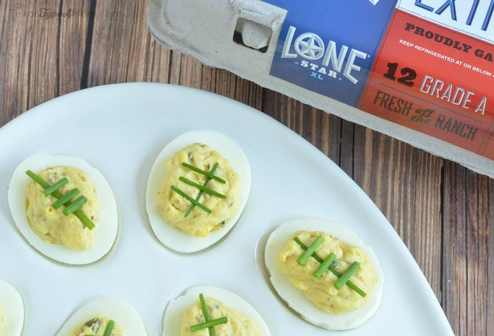 Lonestar Spicy Deviled Eggs