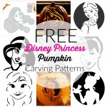 Halloween is coming and for those girlie girls in your life, you need these 9 Free Princess Pumpkin Carving Patterns. They feature popular Disney princess shapes!