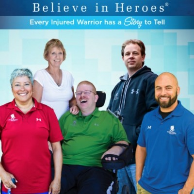 Support Veterans with Wounded Warrior Project for Believe in Heroes