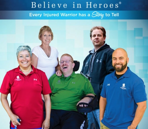 Believe in Heroes Wounded Warrior Project