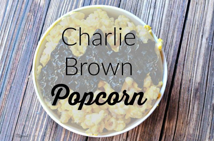 Charlie Brown Popcorn Labeled