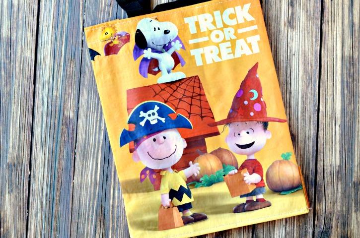 Peanuts Trick or Treat Bag