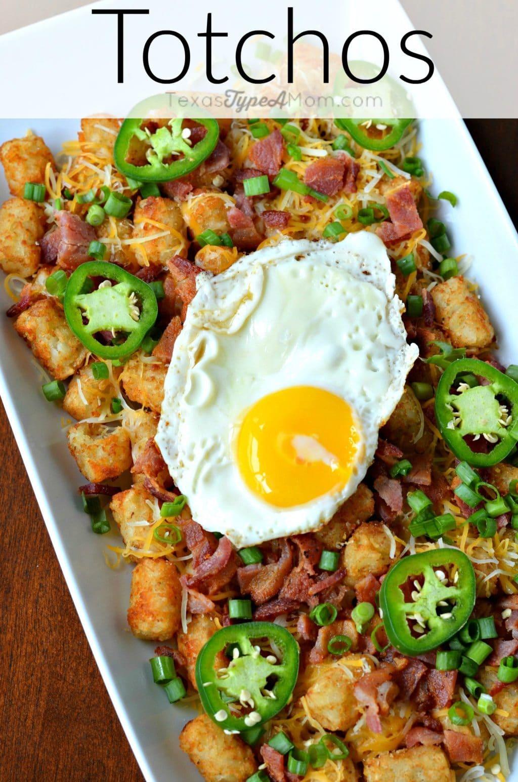 Easy Totchos Recipe with Bacon...where Tater Tots Meet Nachos