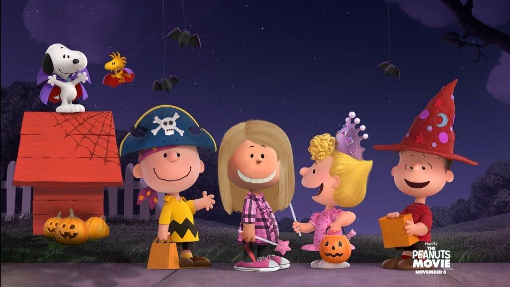 The Peanuts Movie Halloween Wallpaper