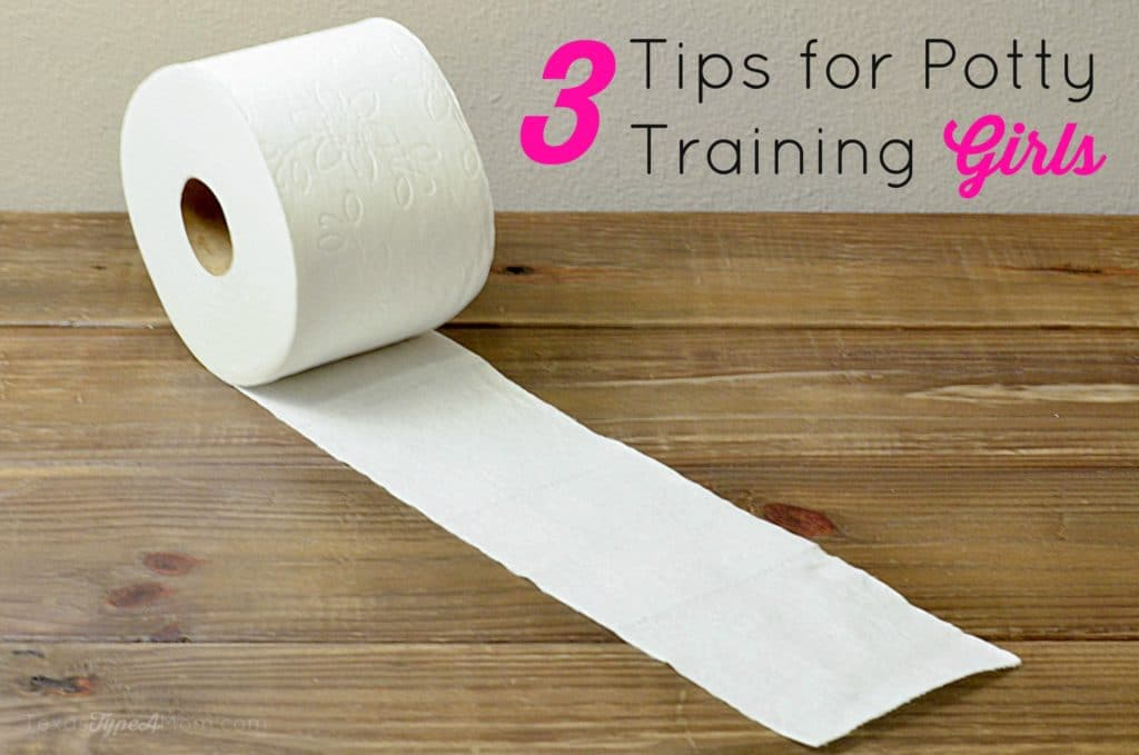 3 Tips for Potty Training Girls