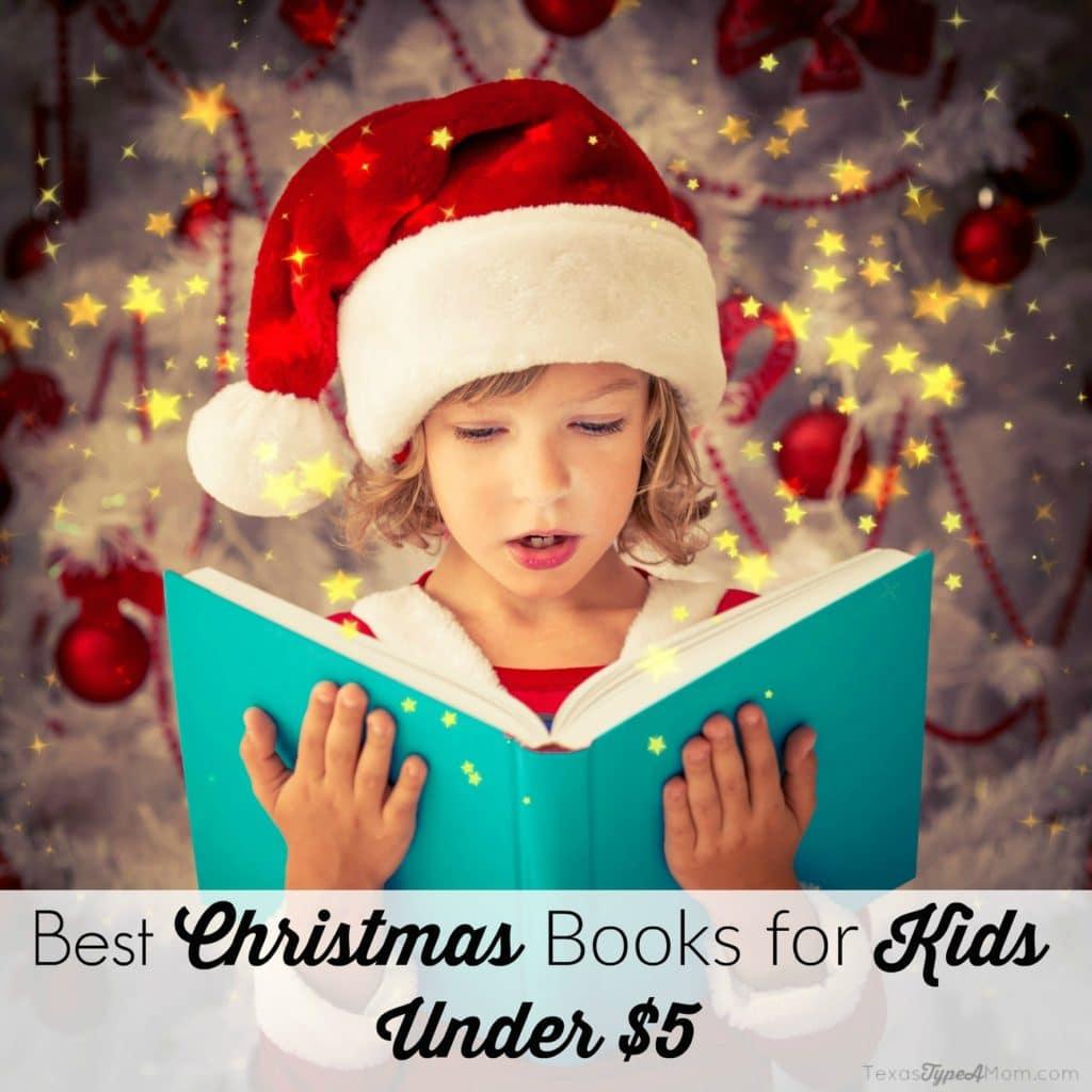 Best Christmas Books for Kids Under $5