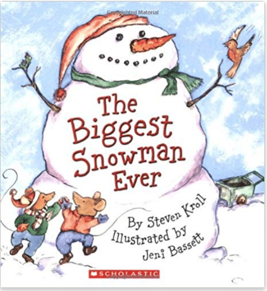 The biggest snowman ever book for kids